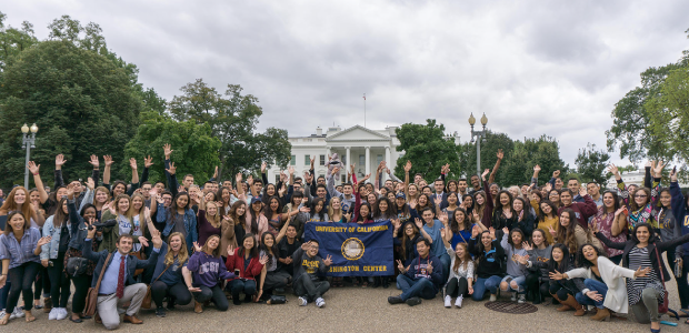 Fall quarter students arrive in Washington, D.C.