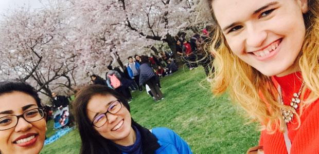 Hello spring! (Caitlin Ritch, UC Irvine)